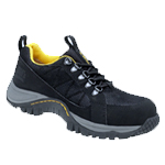 Black Elowah Athletic Style Safety Shoe (6910)