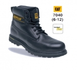 Holton Black Leather Safety Boot (7040)