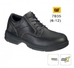 Oversee Black Full Grain Safety Shoe (7035)