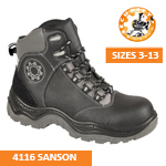 4116 SANSON Black Safety Boot