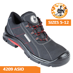 4209 ASIO Black Safety Trainer