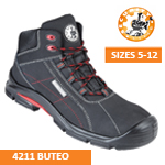 4211 BUTEO Black Safety Boot