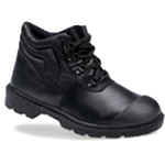 Black Dual Density PU Boot (2417)