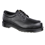 CLEARANCE Icon Black 4 Eyelet Shoe (6801)
