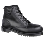 CLEARANCE Icon Black 6 Eyelet Boot (6802)