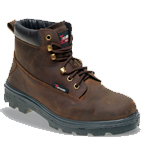 Brown Nubuck Safety Boot (1101)