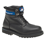 Black Goodyear Welted Boot (3100)