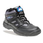 Black/silver Leather/nylon Trainer Boot (4000)