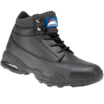 Black Leather Safety Boot (4040)