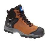 Brown Nubuck Safety Boot (4104)