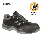 4115 GARONA Black Safety Shoe