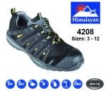 4208 FALCO Black/Yellow Safety Trainer