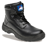 Black Leather Safety Boot (5070)