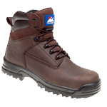 CLEARANCE Brown Leather Safety Boot (5203)