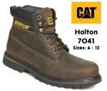 7041 Holton Brown Leather Safety Boot