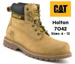 7042 Holton Honey Nubuck Leather Safety Boot