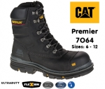 7064 Premier Black Safety Boot