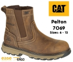 7069 Pelton Dark Beige Dealer Safety Boot
