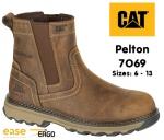 7069 Pelton Dark Beige Dealer Safety Boot