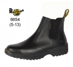 Black Cottam pull-on Safety Boot (6654)