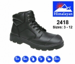 Black Dual Density Safety Boot (2418)