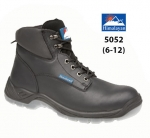 Black Full Grain Leather Safety Boot (5052)