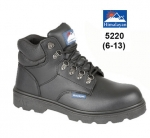 Black Fully Waterproof Safety Boot (5220)