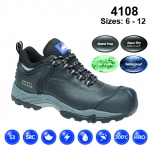 Black Fully Waterproof Shoe (4108)