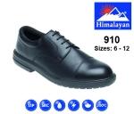 Black Leather Formal Safety Shoe (910)