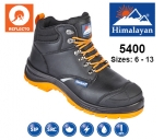 Black Leather Reflecto Safety Boot (5400)