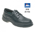 Black Leather Safety Shoe (310)