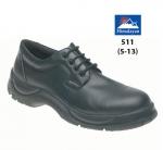 Black Leather Safety Shoe (511)