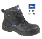 Black Leather Safety Boot (5120)