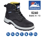 Black Leather Safety Boot (5240)