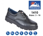 Black Leather Safety Shoe (1410)