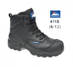 Black Leather Waterproof Boot (4110)