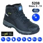 Black Waterproof MetGuard Safety Boot (5208)