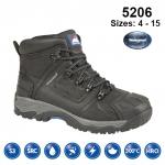 Black Waterproof Safety Boot (5206)