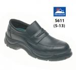 Black Wide Grip NON SAFETY Shoe (S611)