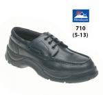 Black Wide Grip Safety Boat Shoe (710)