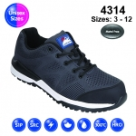 Black #Bounce Safety Trainer (4314)
