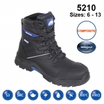 Black #StormHi Safety Boot (5210)