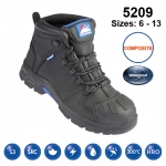 Black #Storm Safety Boot (5209)