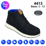 Black #Urban Nubuck Sneaker Safety Boot (4413)
