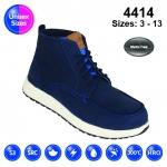 Blue #Vintage Nubuck Sneaker Safety Boot (4414)