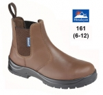 Brown Leather Dealer Safety Boot (161)