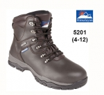 Brown Leather Fully Waterproof Safety Boot (5201)