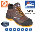 Brown Leather Reflecto Waterproof Safety Boot (5403)