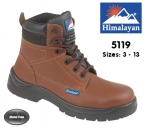Brown Leather Safety Boot (5119)