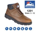 Brown Leather Safety Boot (1201)
